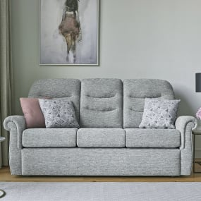 Holmes 3 Seater Fabric Sofa Collection | Housing Units