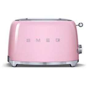 Smeg 50's Retro Style Pink 2 Slice Toaster