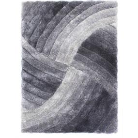 Verge 160 x 230cm Furrow Grey Rug