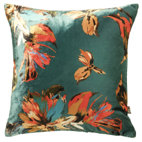 Scatter Box Adriana Teal Cushion