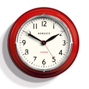 Newgat mini cookhouse red wall clock
