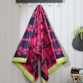 Deyongs Palm Springs Beach Towel