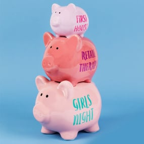 Girls Night Out Triple Money Bank
