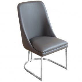 Lucca Grey Dining Chair