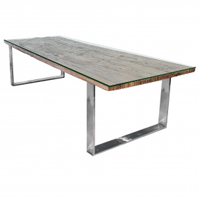 Santa Barbara Reclaimed Timber 240cm Dining Table