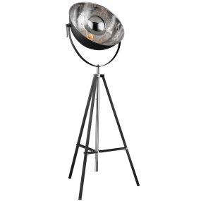 Xirena Chrome Floor Lamp