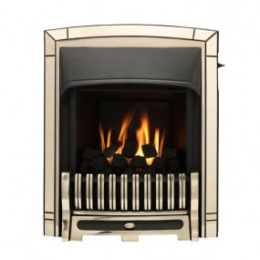 Valor Excelsior Slimline Convector Gas Fire in Pale Gold