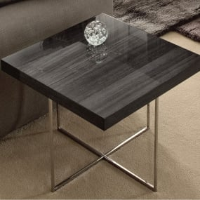 Monza High Gloss Side Table