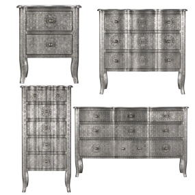 Antique Grey Bedroom Collection