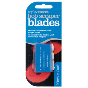 Replacement Double Sided Hob Scraper Blades