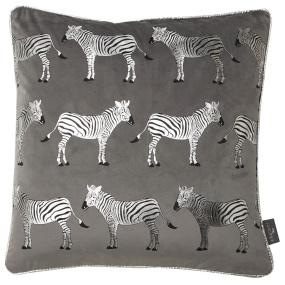 Malini Foil Zebra Cushion   Housing Units