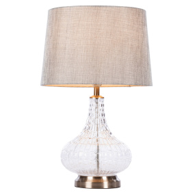 Crocodile Glass Table Lamp with Shade | Housing Units