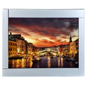 Venice with Mirrored Frame