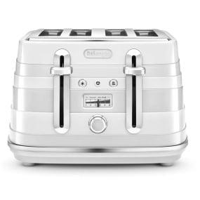 DeLonghi Avvolta Toaster White
