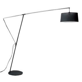 Mantra Nordica Black Overreach Floor Lamp