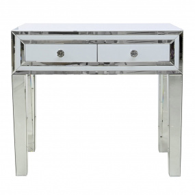 Dash White Mirrored Dressing Table