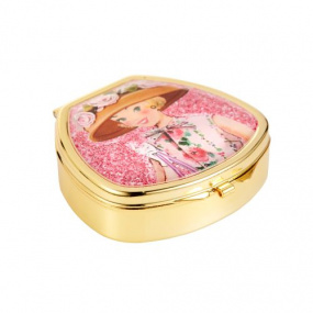 Vintage & Co Bonnet & Belles Hand Compact Lip Balm