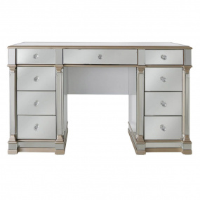 Versailles Champagne Mirror Finish Dressing Table