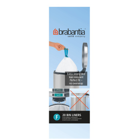 Brabantia 20 Litre Bin Liners - Size F