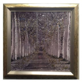 Epernay Gold Framed Picture by Clare Wright