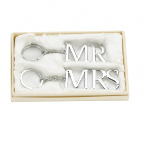 Amore Mr and Mrs Keyrings