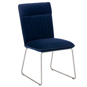 Clarence Blue Dining Chair