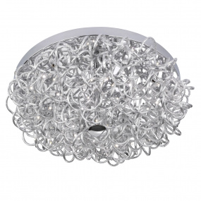Wofi Apart Semi Flush Ceiling Light
