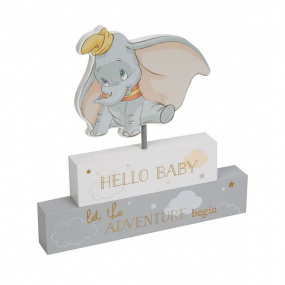 Disney Hello Baby Dumbo Mantel Block