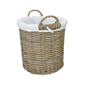 Langham Rattan Small Log Basket