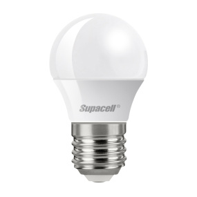Supacell Digital LED Golf Ball Opal ES E27 3W Bulb