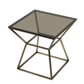 Meyer Glass Side Table