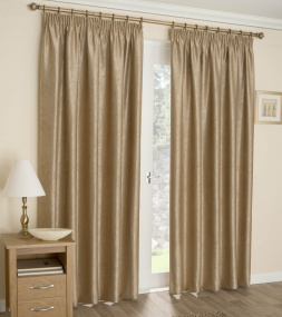 Apollo Gold Blackout Curtains