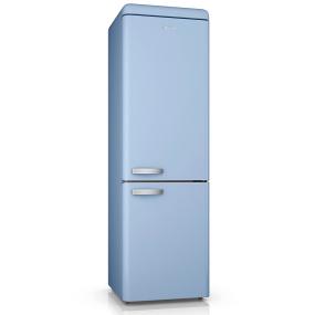 Swan Retro Blue Frost Free 70/30 Fridge Freezer