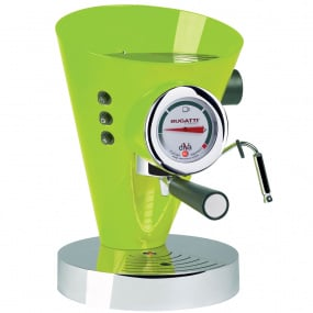Bugatti Diva Green Espresso Machine