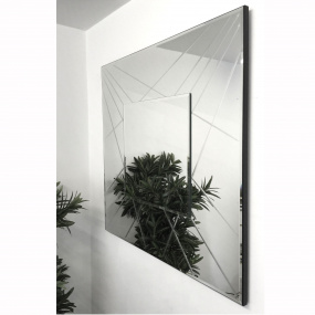 Aerial Square Mirror