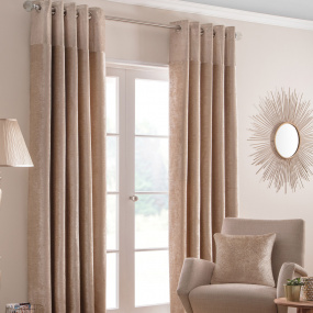 Belfield Nova Champagne 90x90 Curtains