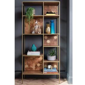 Molton Acacia Wood Bookcase - Lifestyle | Housing Units