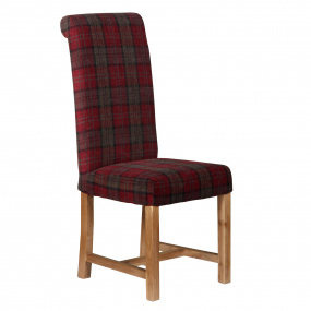 Highland Orkney Claret Dining Chair
