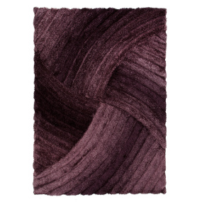 Verge Furrow Purple 160cm x 230cm Rug