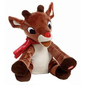 Musical Light Up Reindeer 30cm