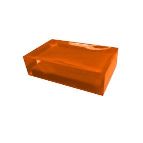 Rainbow Orange Soap Dish