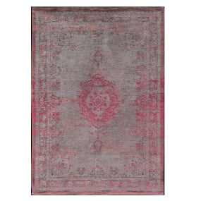 Fading World Pink Flash 170cm x 240cm Medallion Rug