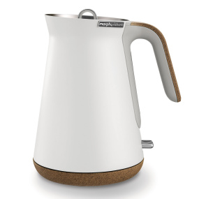 Morphy Richards Aspect White Steel Jug Kettle
