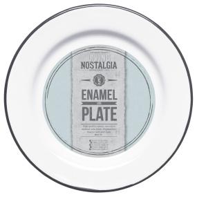Living Nostalgia Enamel 20cm Side Plate