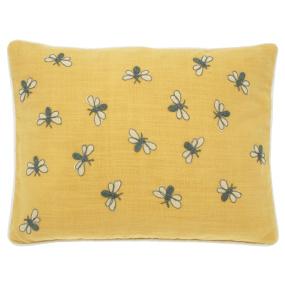 Scrapbook Bumblebee Cushion