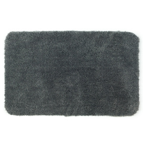 Allure Microfibre Charcoal Grey Bath Mat