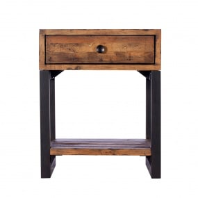 Malmo Reclaimed Timber Side Table