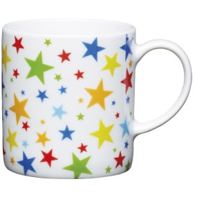 Multi Stars Porcelain Expresso Cup