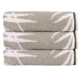Christy Bamboo Silver Bath Sheet