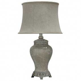 Abri Soft Gold Sparkle Large Table Lamp and Shade